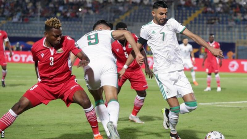 Nigeria became the first team to qualify for the last 16 of the Africa Cup of Nations on Wednesday while hosts Egypt joined them with a 2-0 win over DR Congo later in the day.