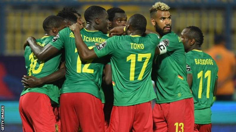 Cameroon began the defence of their Africa Cup of Nations crown with victory over Guinea-Bissau in Group F.