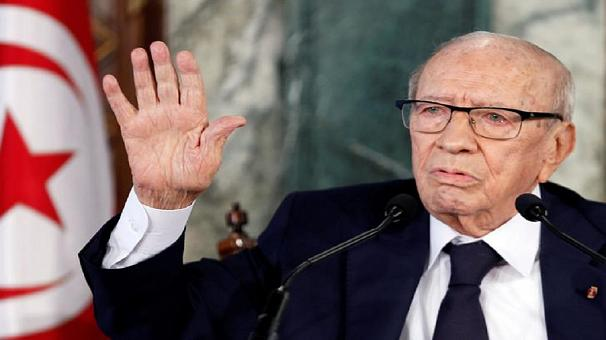 Tunisia president hospitalized over 'severe health crisis'