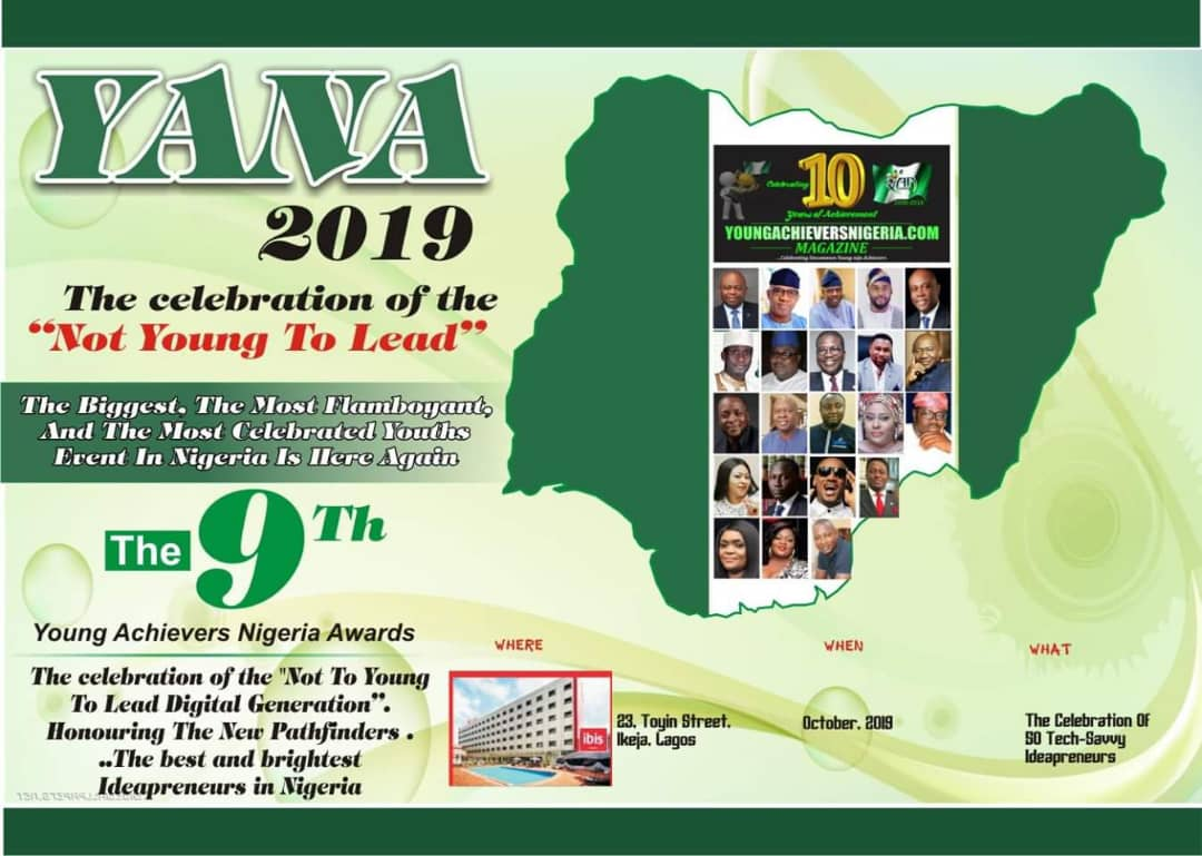 "YANA 2019- The celebration of the ""Not Young to Lead"""