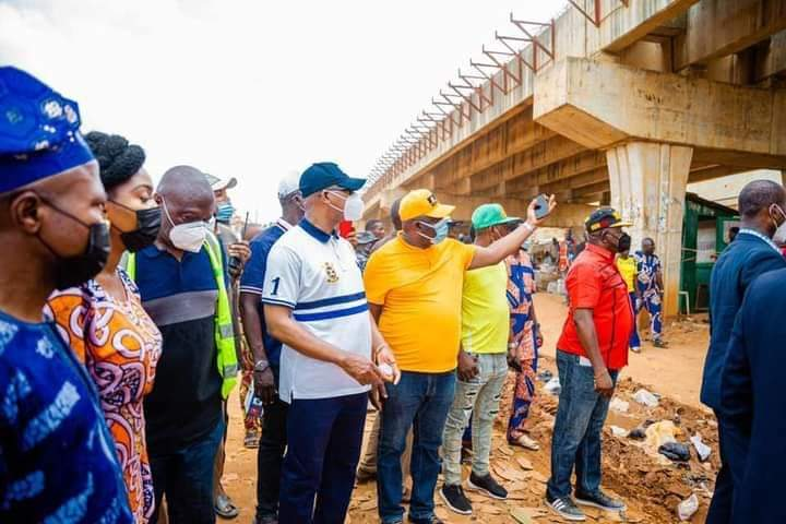 GOV. ABIODUN ASSURES OF TIMELY COMPLETION OF ISHASI-DENRO-AKUTE, ABANDONED IJOKO ROADS