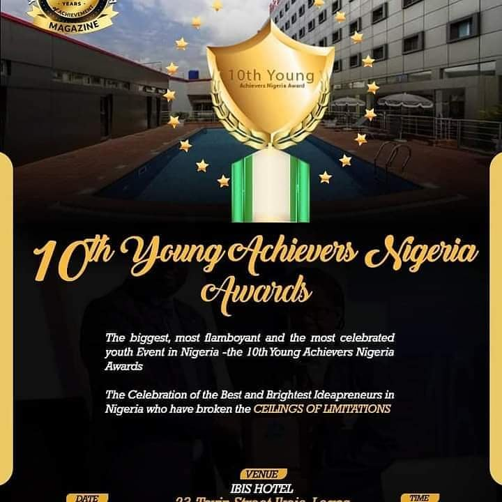 10th Young Achievers Award