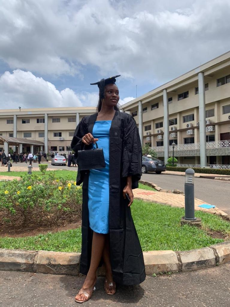 Mariam Ajuwon graduates with flying colors as balkis also matriculates