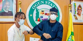 Ogun state Governor Presents the winner of the Big Brother Naija Lockdown with addition to house and cash gifts