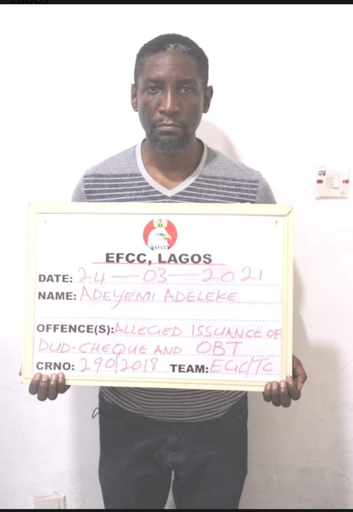 EFCC Arrests Man for Alleged N800m Fraud in Lagos